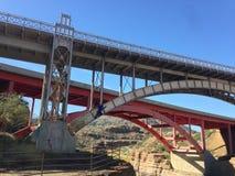 Взбираясь мост Стоковое Изображение