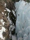 взбираясь парк льда ouray Стоковое фото RF
