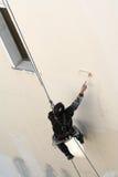 взбираясь работник re краски Стоковые Фото