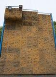 взбираясь стена утеса Стоковая Фотография RF