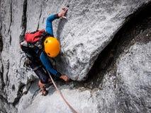 взбираясь утес узлов ropes 2 Стоковые Изображения RF