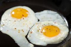 2 взбитого яйца Стоковые Изображения