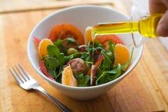 взбрызнутый салат масла Стоковые Изображения RF