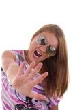 Взбунтованная девушка Стоковое Фото