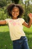 взволнованности ребенка шаловливые стоковое фото rf
