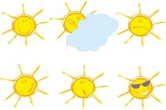 взволнованности солнечные Стоковое Изображение