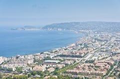 взгляды городка montgo массива javea стоковые изображения rf