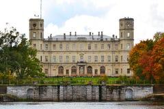 Взгляды грандиозного дворца Gatchina стоковое фото