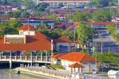 Взгляды Джорджтаун, Penang стоковое изображение