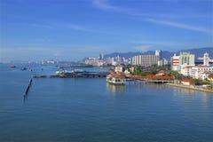 Взгляды Джорджтаун, Penang стоковые изображения rf