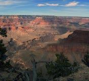 Взгляды захода солнца гранд-каньона стоковая фотография