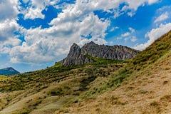 Взгляды и красота природы Крыма Ландшафты Крыма стоковые изображения rf