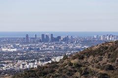 Взгляды Лос-Анджелеса Тихие океан стоковое изображение