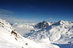 взгляды наклона горы Стоковое Изображение