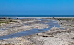 Взгляды океана в южном Перу стоковое изображение rf