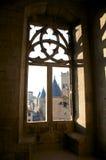 Взгляды окна замока Стоковые Изображения