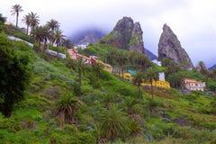Взгляды острова Gomera Ла, Canaries стоковая фотография rf