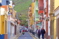 Взгляды острова Gomera Ла, Canaries стоковое изображение rf