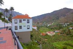 Взгляды острова Gomera Ла, Canaries стоковые фотографии rf