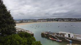 Взгляды пляжа раковины Стоковое фото RF