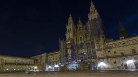 Взгляды собора Santiago de Compostela Стоковая Фотография RF