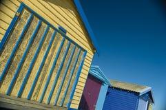 взгляды хаты пляжа Стоковое фото RF