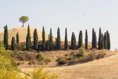 взгляды apennines emilian панорамные тосканские Стоковое Изображение RF