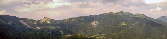 взгляды apennines emilian панорамные тосканские Стоковая Фотография