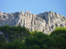Взгляды Greant на верхней части держателя Jabalcuz, AndalucÃa Стоковое Изображение