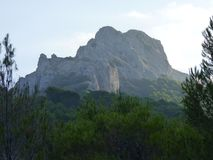 Взгляды Greant на верхней части держателя Jabalcuz, AndalucÃa Стоковое Фото