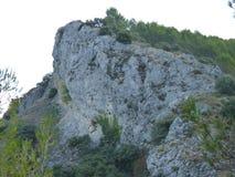 Взгляды Greant на верхней части держателя Jabalcuz, AndalucÃa Стоковая Фотография RF