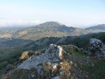 Взгляды Greant на верхней части держателя Jabalcuz, AndalucÃa Стоковые Фото