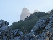 Взгляды Greant на верхней части держателя Jabalcuz, AndalucÃa Стоковое фото RF