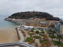 Взгляды San Sebastian стоковое изображение rf