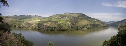 Взгляд †реки Дуэро «панорамный стоковое фото