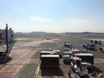 Взгляд авиапорта Мехико Стоковое Изображение RF