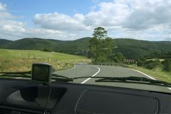 взгляд автомобиля Стоковое Изображение RF