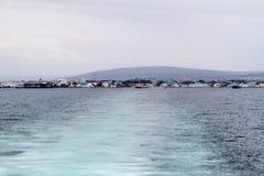 Взгляд арен Punta, Chil стоковая фотография