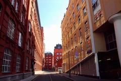 Взгляд архитектурного ансамбля Стоковая Фотография