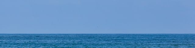 Взгляд Атлантического океана простой Стоковые Фото