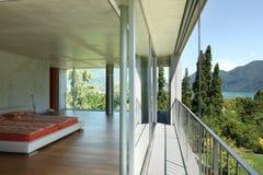 взгляд балкона Стоковое Изображение