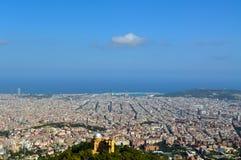 Взгляд Барселона Стоковое Изображение