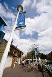 Взгляд бассейна Brayford, Линкольна, Линкольншира, Великобритания - Стоковое Изображение RF