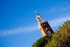 взгляд башни Италии gaeta колокола стоковая фотография