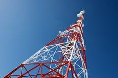 Взгляд башни радиосвязей стоковая фотография