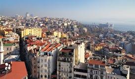 взгляд башни istanbul galata Стоковые Изображения RF