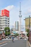 Взгляд башни Skytree Токио стоковые фото