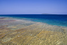 взгляд берега озера стоковое фото rf