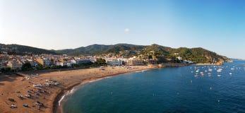 взгляд береговой линии панорамный Стоковые Изображения RF