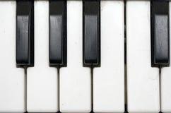 взгляд близкой grundgy клавиатуры plasic стоковое изображение rf